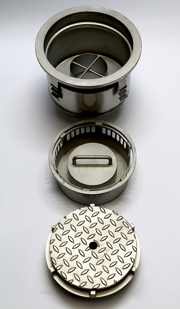 Tiehack Heavy Duty Drain Gully - Round and Square Top